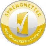 immoorga Markenzeichen: Geprüfter ImmoBarrierefrei-Experte seit 2018